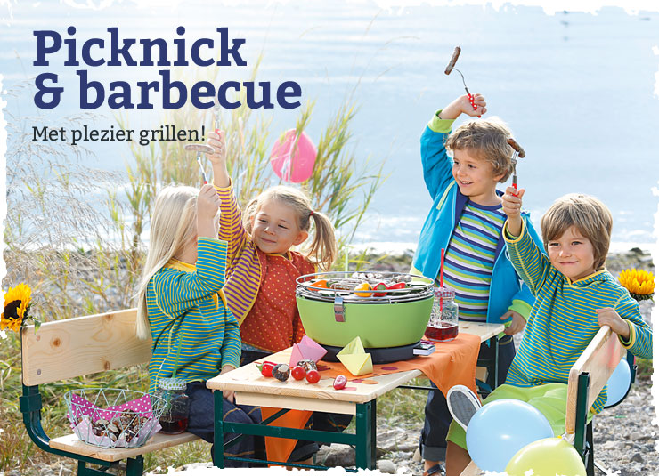 Picknick en barbecuen