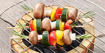 Voor picknick en barbecuen