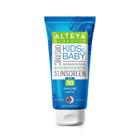 Bio kids & baby zonnebrandcr�me SPF 30, 90 ml