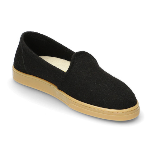 Slipper WOOL LOAFER, Zwart