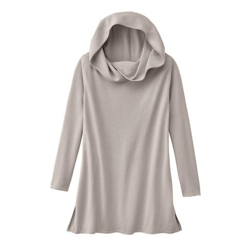 Pullover met capuchon, steen 50