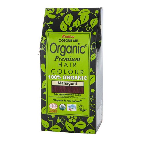 Radico Organic plantaardige haarkleuring 100 g, mahonie