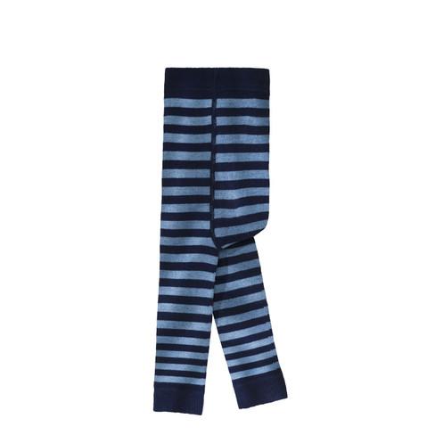 Gestreepte babyleggings, blauw 56/62