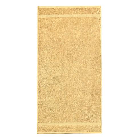 GOTS-badhanddoek, vanille 70 � 140 cm