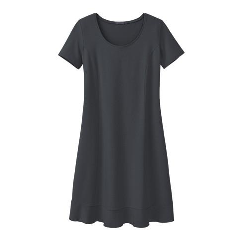 Comfortabele jurk van bio-jersey, zwart 36