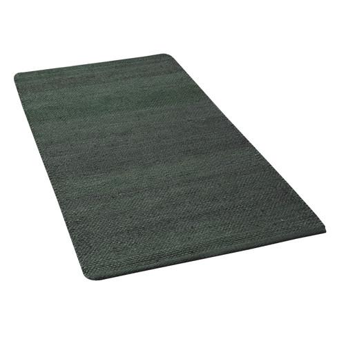 GoodWeave fair trade hennep natuur-tapijt, rookblauw 160 x 230 cm