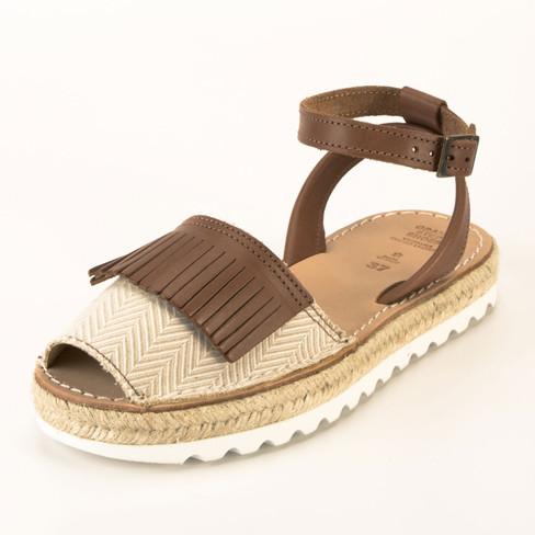 Sandaal, bruin 39