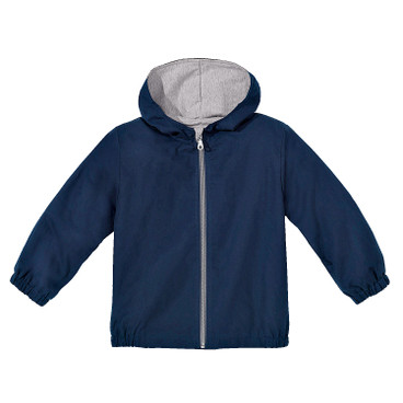 Outdoorjas met capuchon Bionic-Finish Eco, blauw