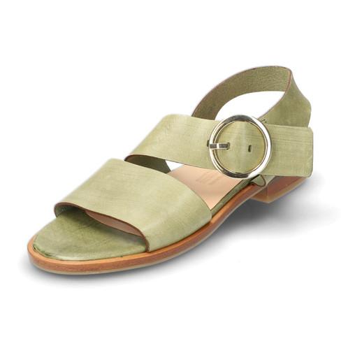 Sandaal, lindegroen 36