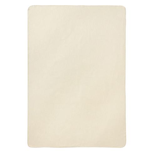 Flanellen deken, naturel 75 x 100 cm