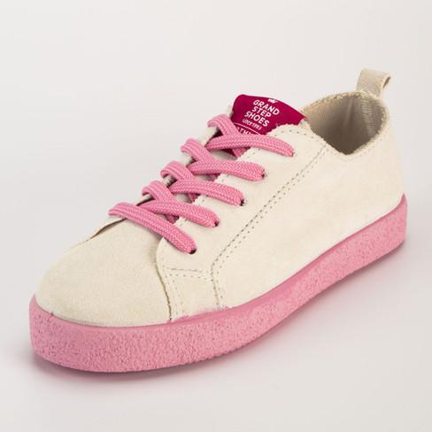 Sneaker, pink 40