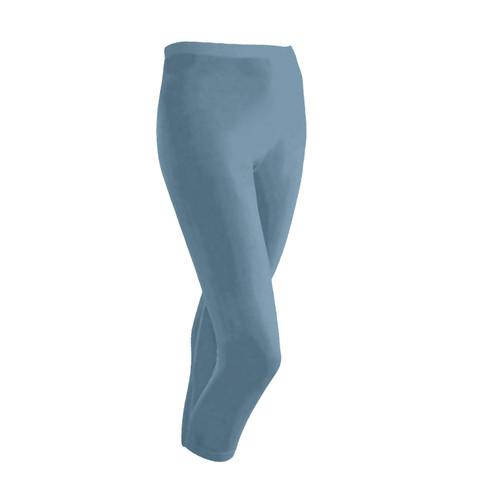 Zijden 3/4-legging uit Organic Silk, bes 44