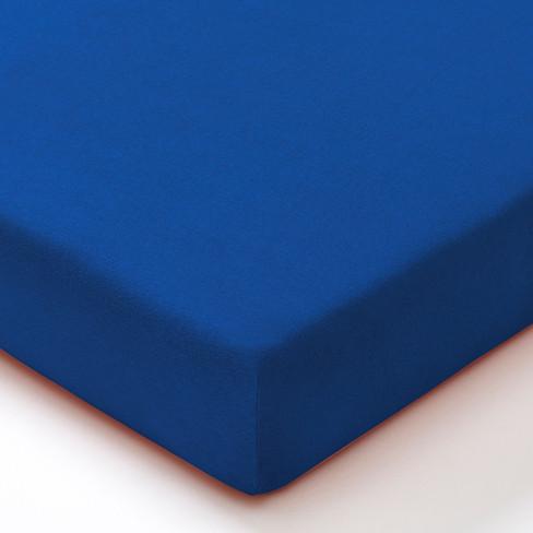 Biojersey hoeslaken, royal 100 x 200 cm in de voordelige 2-dlg. set