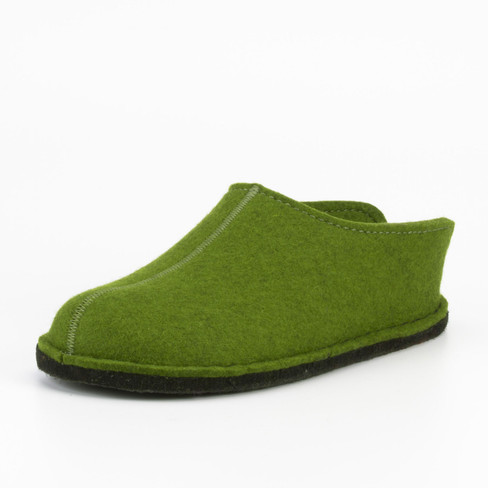 "Pantoffels ""smiley"", groen"