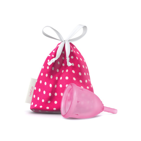Menstruatiekuipje LadyCup�, pink S � 3 cm