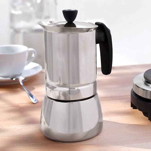 Espressokoker van roestvrij staal