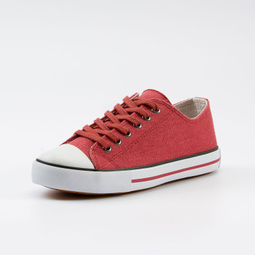 "Hennep sneakers ""Chris"", rood"