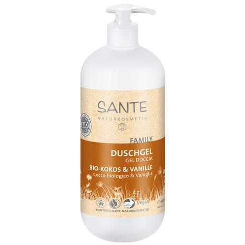 Douchegel bio-kokos & banille, 950 ml