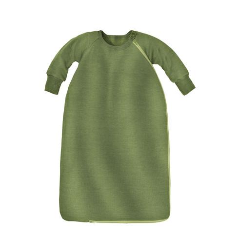 Baby-slaapzak met mouw, groen 62/68