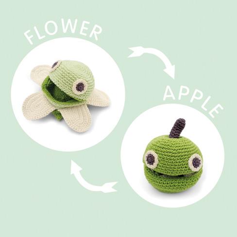 Omdraai-appel/bloesem