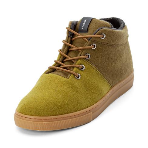 """Sneaker """"Sky Woolers"""", gras/oliv 42"""