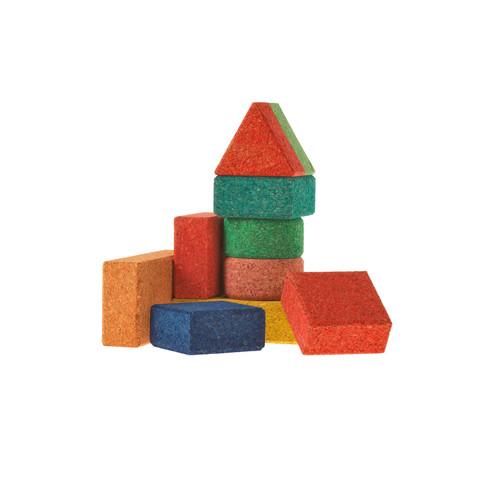 Kurk-bouwstenen Baby0 stuks