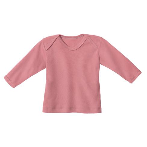 minibär Baby-ribshirt met lange mouwen, roze | Waschbär from Waschbär