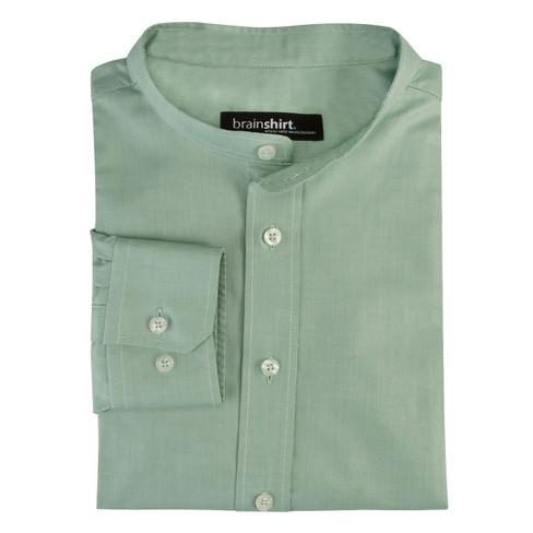 Overhemd ELVERUM uit biologisch katoen, mint 39/40