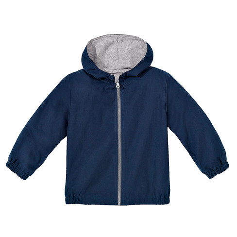 Outdoorjas met capuchon Bionic-Finish Eco, blauw 134/140