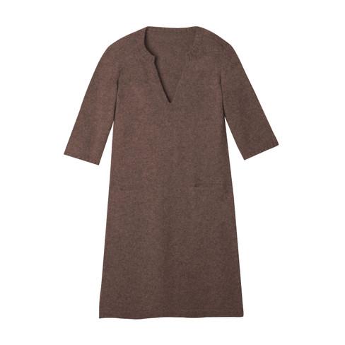 Gebreide jurk, noga 40