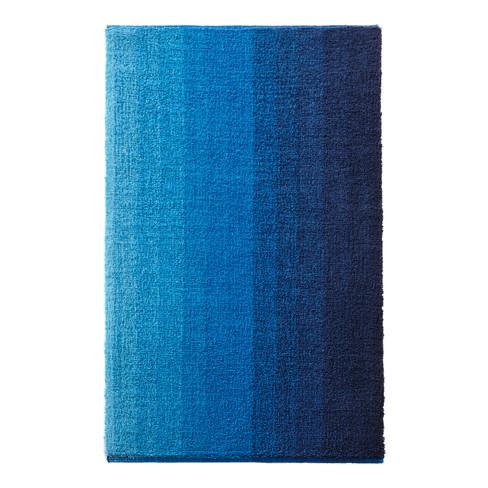 Bio-badkamermat, blauw 60 x 100 cm