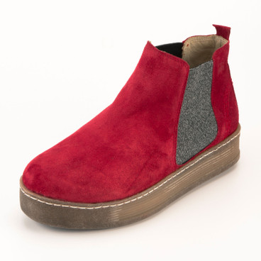 Chelsea-boot, rood