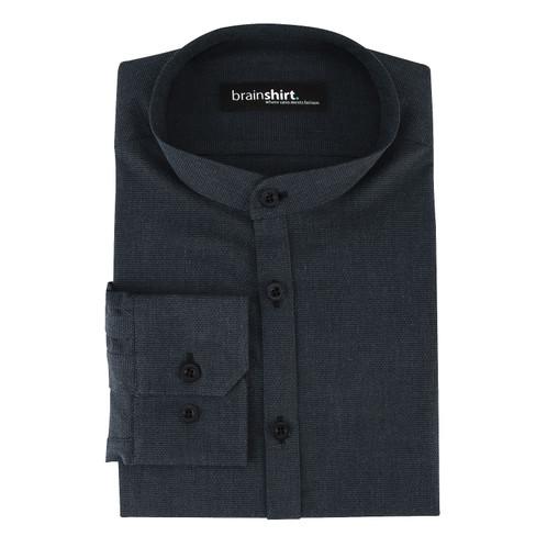 Overhemd ELVERUM uit biologisch katoen, indigo 39/40