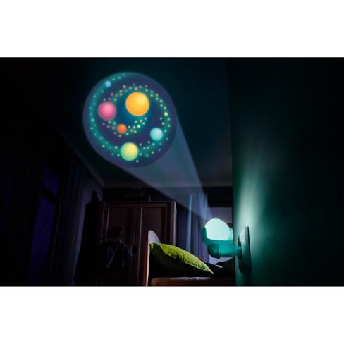 Sluimernachtlampje regenboog