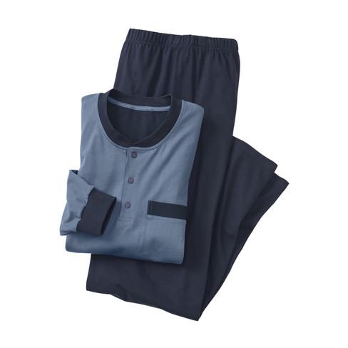 Kumpf Pyjama, staalblauw | Waschbär from Waschbär