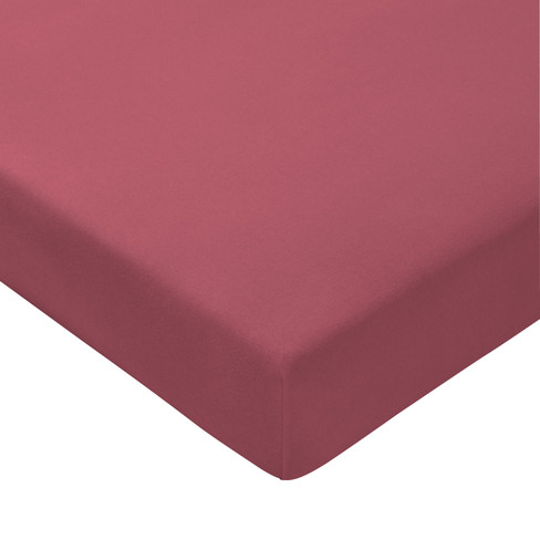Jersey-elastaan-hoeslaken, rozenhout 150 x 200 cm