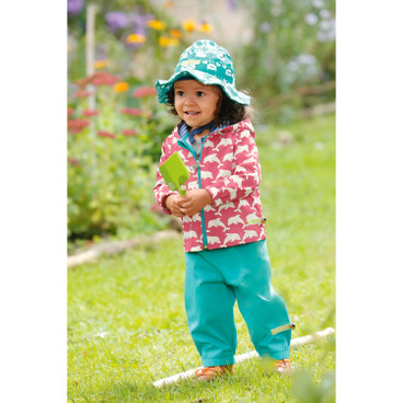 Baby-outdoorbroek Bionic-Finish Eco, smaragd