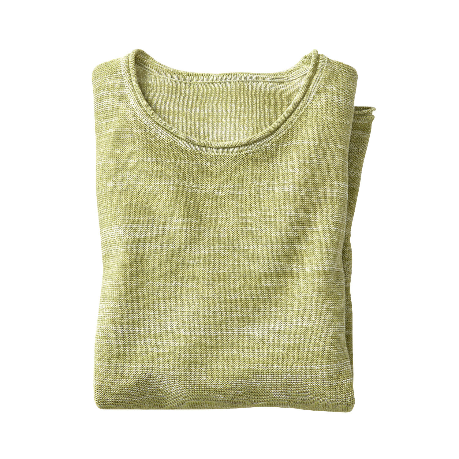 Pullover, avocado-naturel