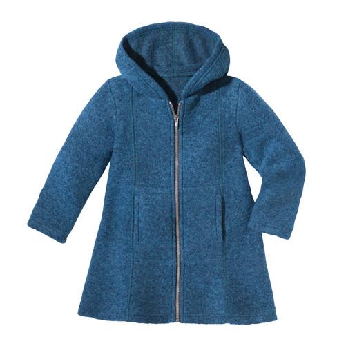 minibär Walkstof mantel, turkooisblauw | Waschbär from Waschbär