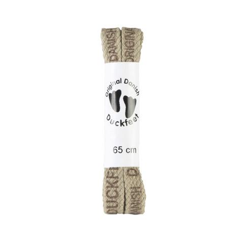 Katoenen schoenveter, 65 cm, beige 65