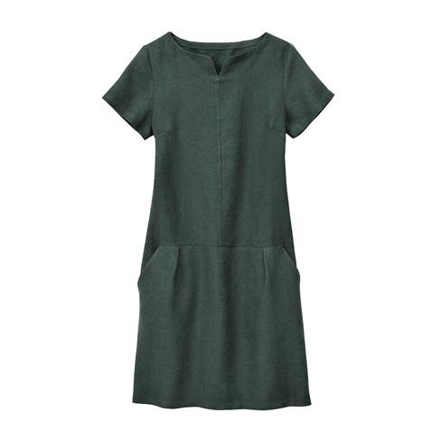 Linnen jurk, taxus 40