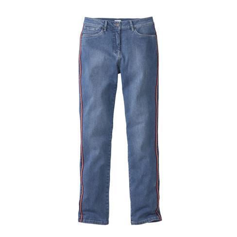 Bio-jeans in 5-pocket-style, lightblue 44