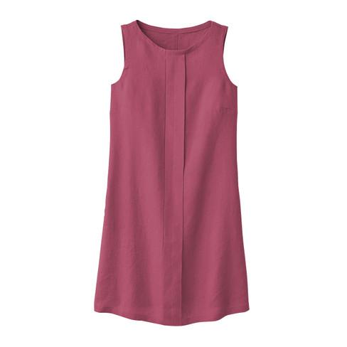 Linnen jurk, rozenhout 42