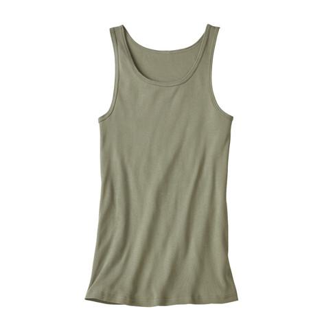 Dubbelpak T-shirt zonder mouwen, olijf 5