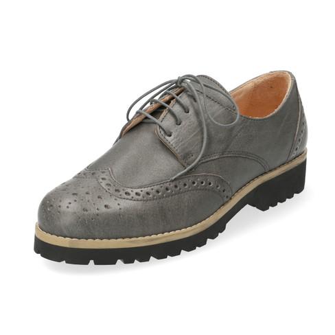 Lage schoen, Leisteengrijs 38