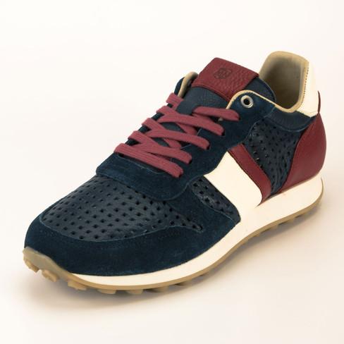 Sneaker Manel, marine/kombi 40