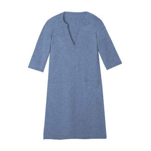 Gebreide jurk, jeans 36/38