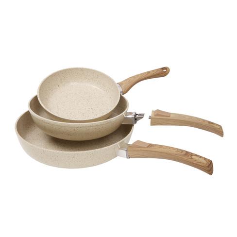 keramische pannen 3-delig | waschbär eco-shop