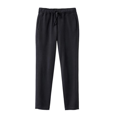 Wollen jersey broek, zwart 52