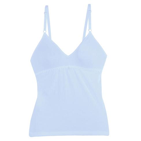 Bh-hemd, ijsblauw 42
